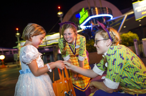 Trick Or Treating With Allergies At Mickey's Not-So-Scary Halloween Party