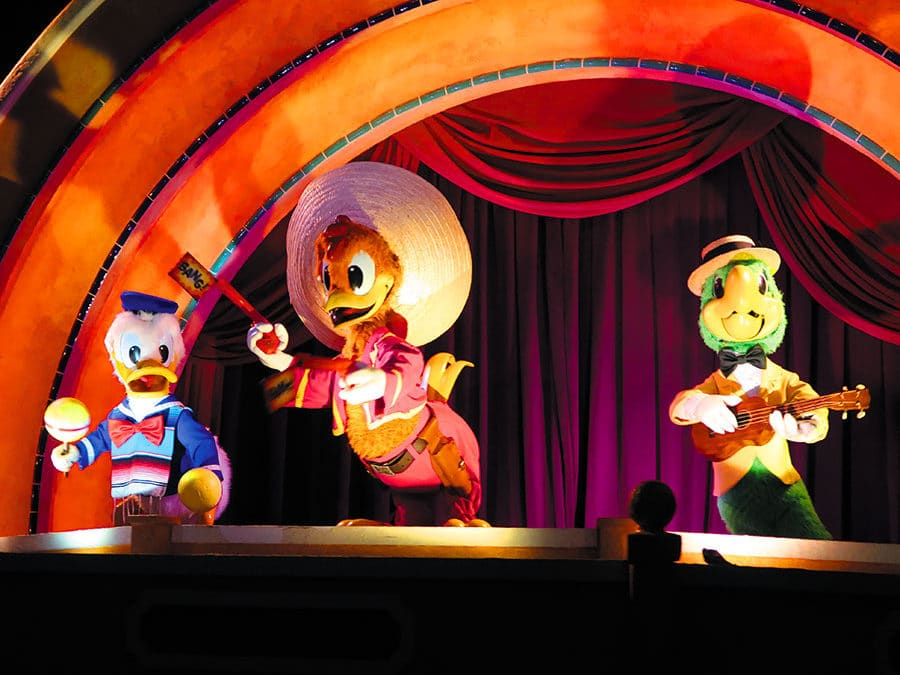 Touring Mexico With the Three Caballeros