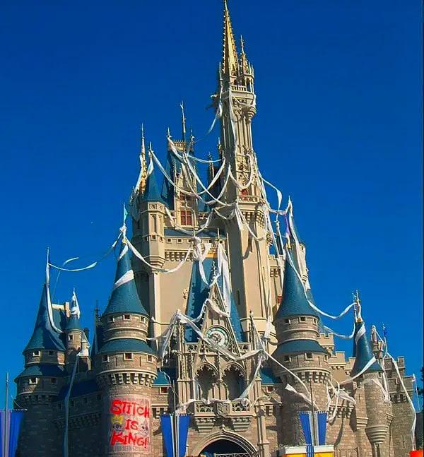 Stitch Takes Over Cinderella Castle