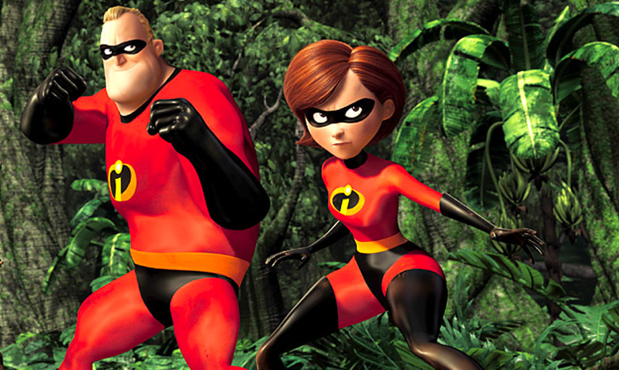 Mr. and Mrs. Incredible