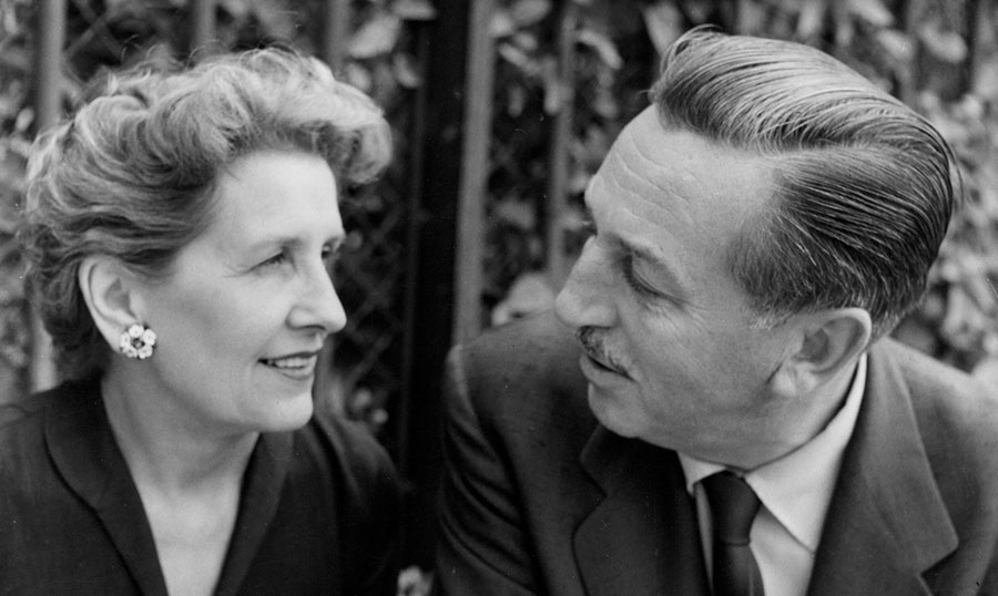 Walt and Lillian