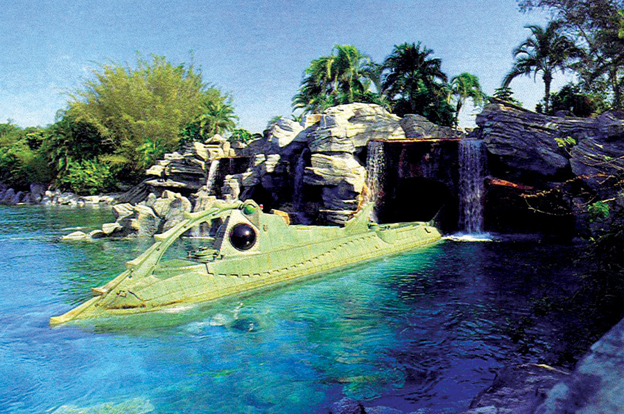 20,000 Leagues Under the Sea Submarine Voyage